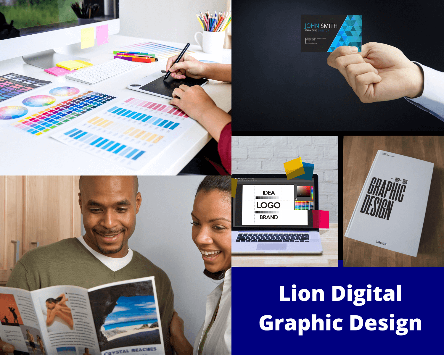 Example of Lion Digital Marketing Graphic Design Services